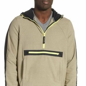 Under Armour Mens Hooded 1/4 Zip Warm Micro Fleece